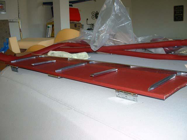 Folding luggage board complete 2