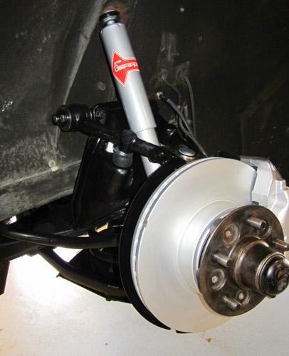 Front suspension 3
