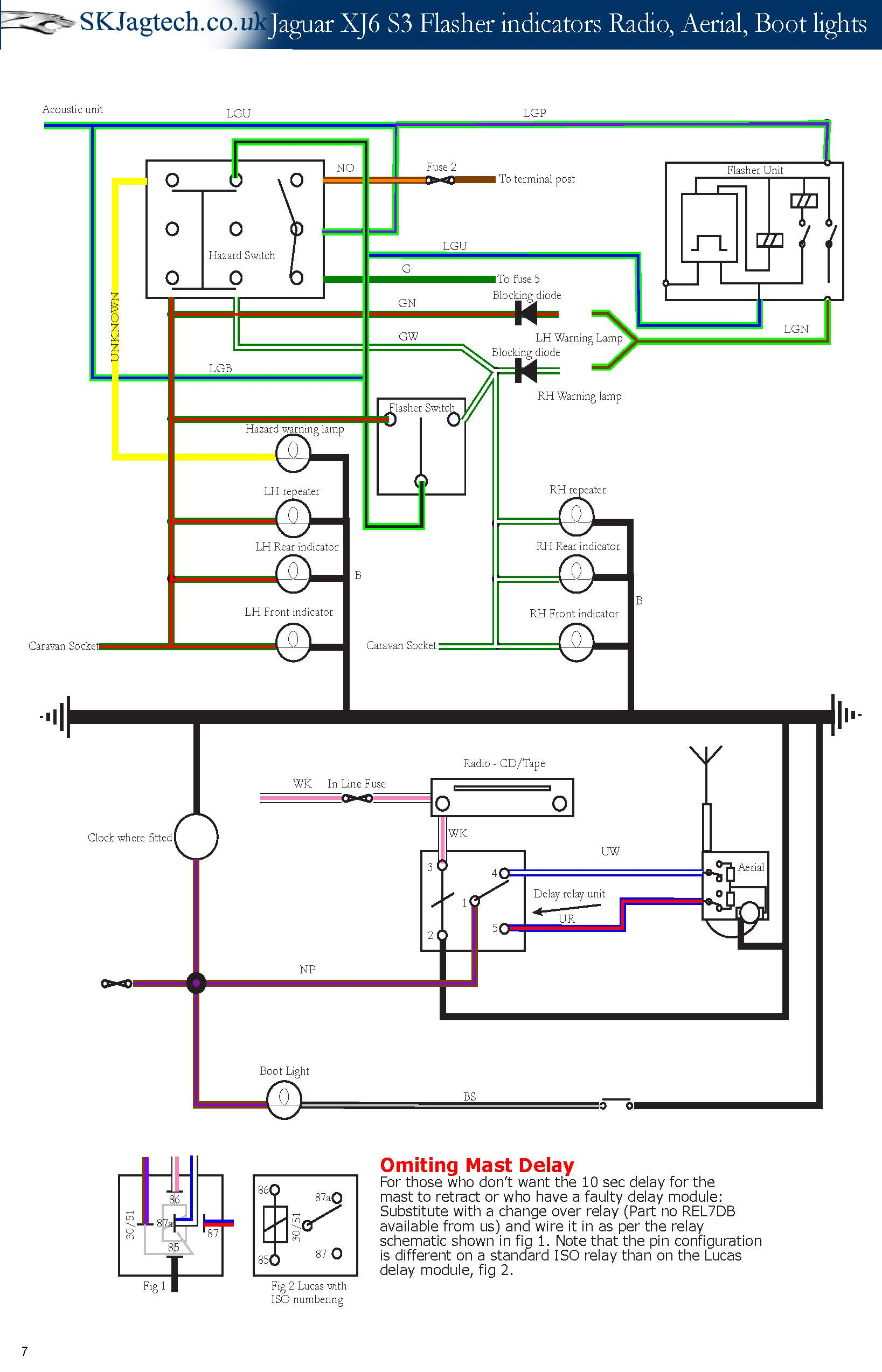 wiring for xj12 s2 antenna - xj - jag-lovers forums xj12 wiring diagram 1978 chevy truck wiring diagram jag-lovers forums