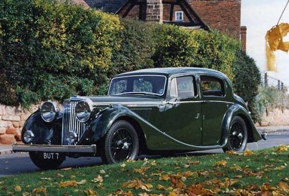 1940 SS Jaguar Saloon (80004 - BUT 7)