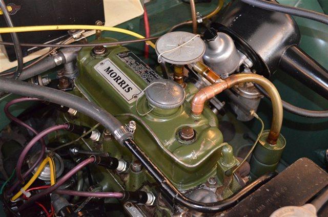 1967 Morris MinorPCV set up