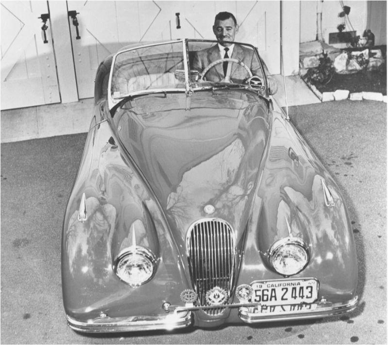Jaguar-XK120-PB-Clark-Gable