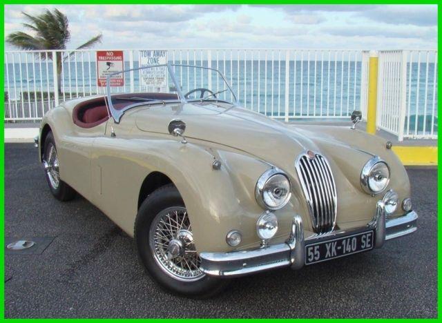 1955-jaguar-xk-140se-roadster-lavender-grey-on-mulberry-interior-clean-1