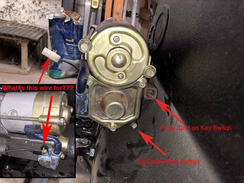 Nippondenso starter wiring question - E-Type - Jag-rs Forums on