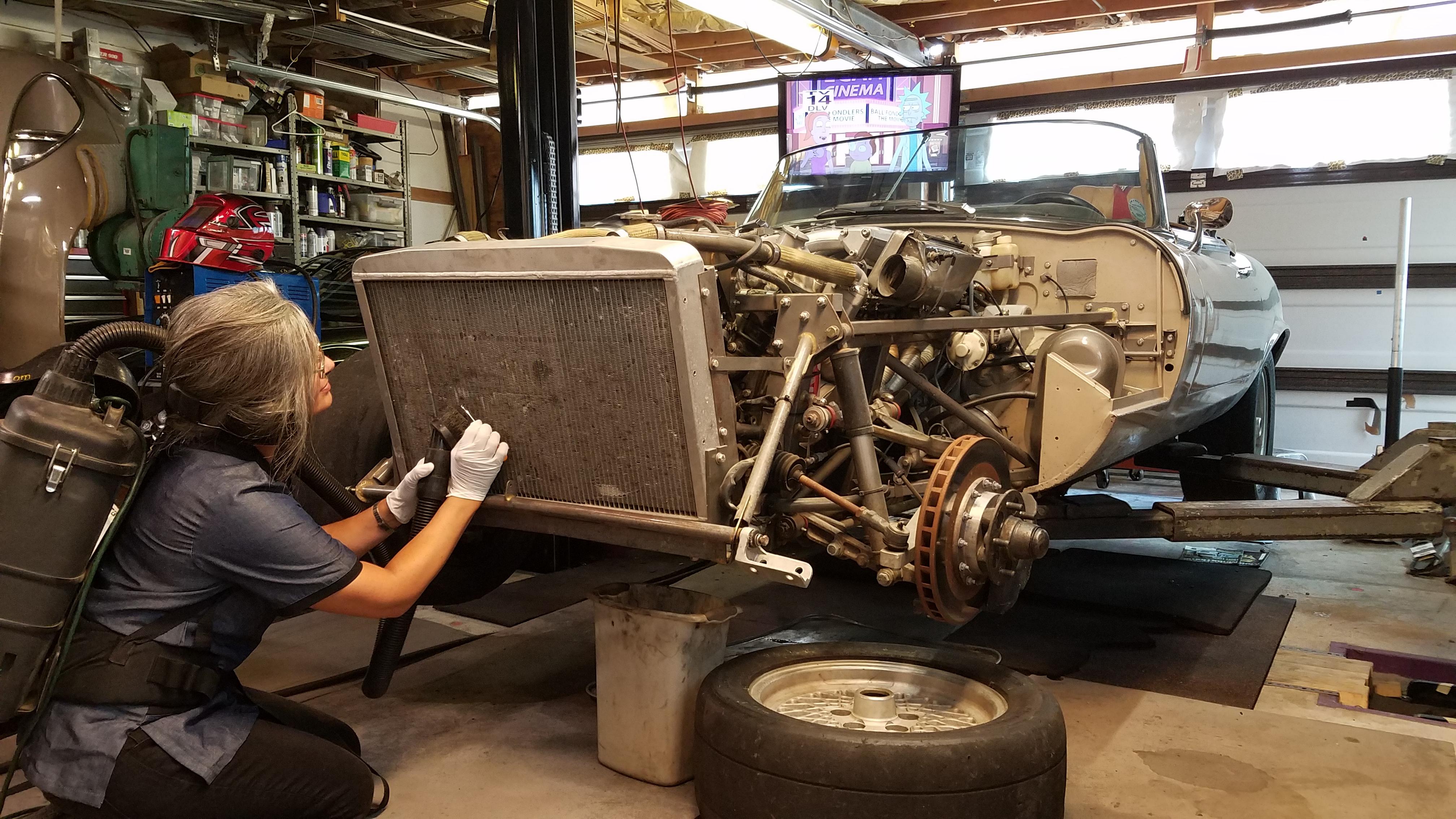 XK120 radiator rebuild - XK - Jag-lovers Forums