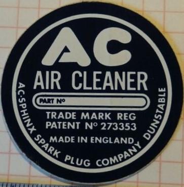 Repro AC sticker