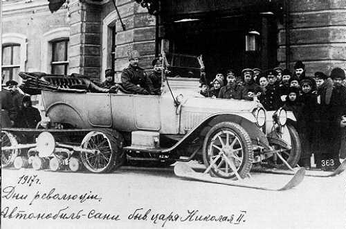 Kegresse track_Tsar Nicholas 1917 Packard
