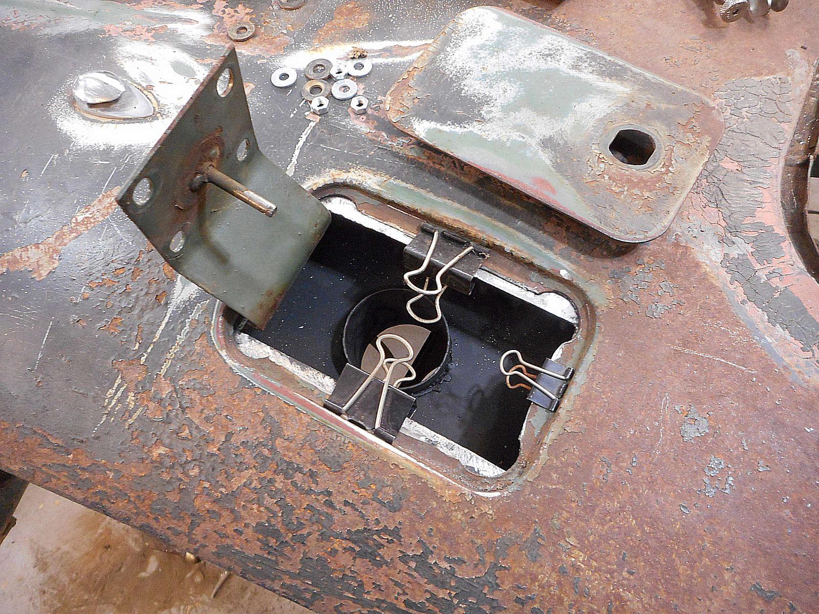 fuel filler box new