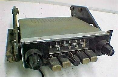 Radiomobile mounting